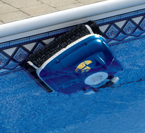 The New Nitro Robotic Swimming Pool Cleaner Scrubs The Walls And Had Great Reviews