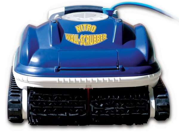 Nitro Swimming Pool Wall Scrubber Robotic Pool Cleaner