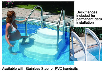 Oasis Steps For Inground Swimming Pools Lumi O